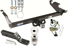 1987-1995 CHEVY G10 G20 G30 COMPLETE TRAILER HITCH PACKAGE W/ WIRING KIT CLASS 3