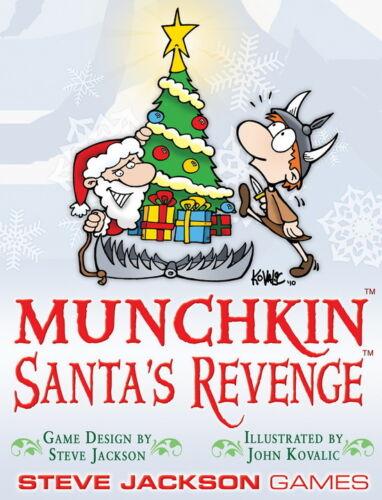Munchkin Expansion Santa/'s Revenge Booster Pack Steve Jackson Games New