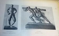 Renato Bigi: Regia Scuola d'Arte Mario dei Fiori di Penne 1942 Le Monnier tavole