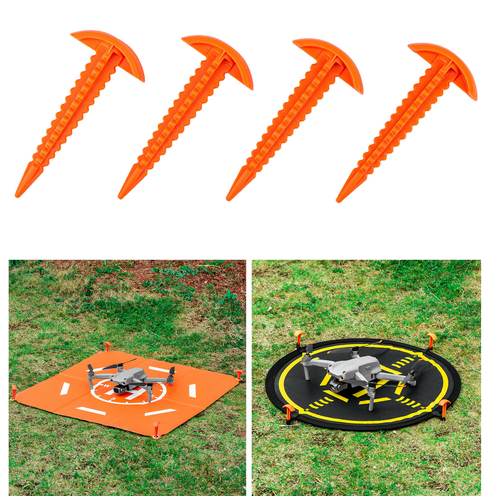 ABS Drone Apron Fixed Nails for Drone Apron Landing Pad Wearable Durable