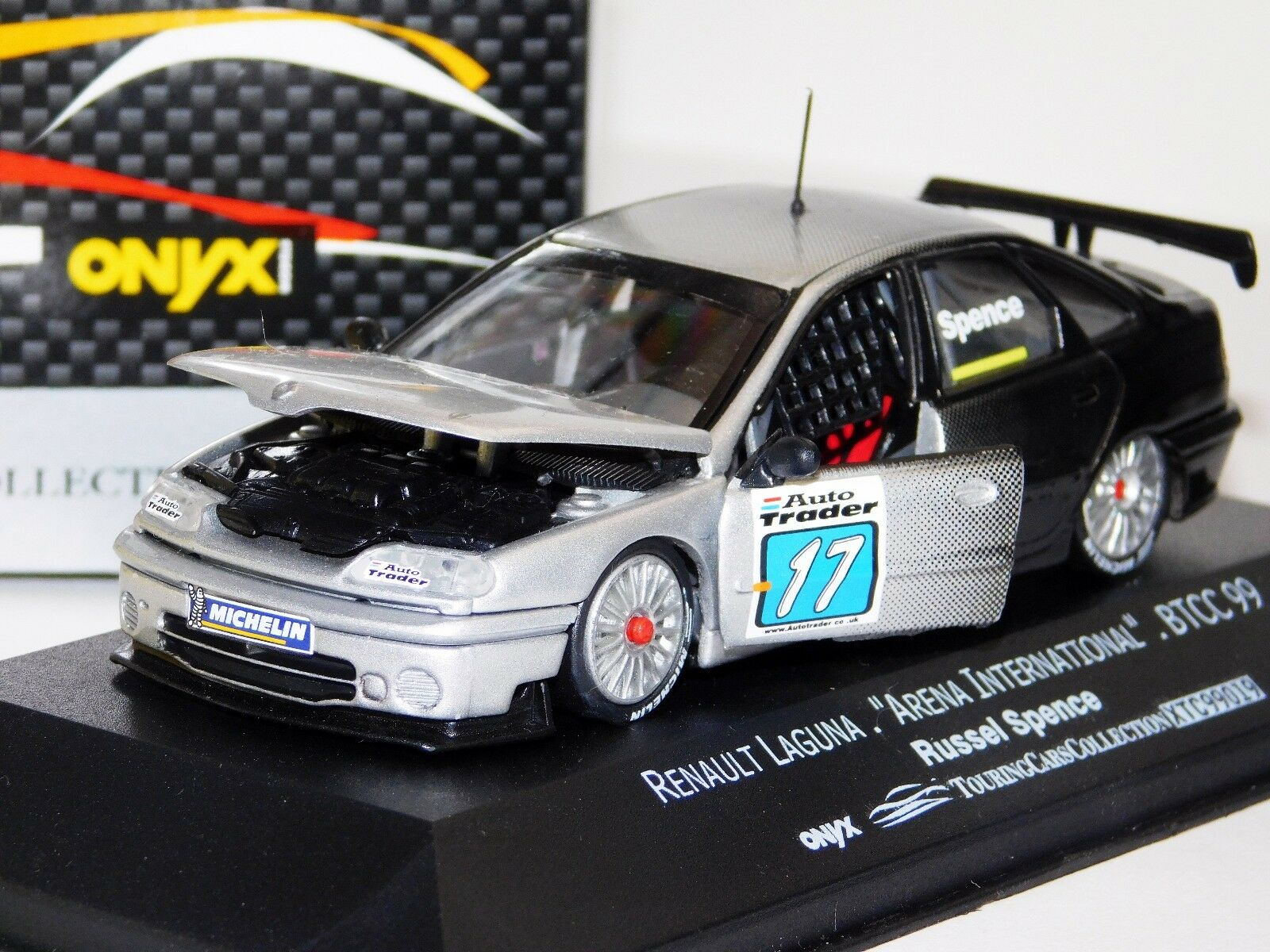 Renault Laguna Arena Russel Spence BTCC 1999 apertura Onyx XTC99019 1 43