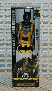 Batman-Missions-BATMAN-ANTI-FEAR-TOXIN-SUIT-12-034-Inch-Scale-Figure-Mattel-GCK88