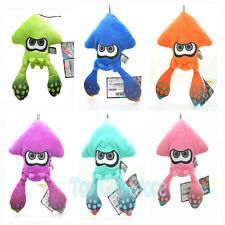puInkling Squid Lime Green Blue Purple Pink Splatoon 8/'/' Plush Doll Gift Set 6pc