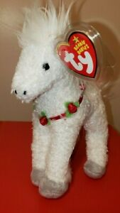 Ty Beanie Baby - HOLLYHORSE the Christmas Horse (8 Inch) MINT with MINT TAGS