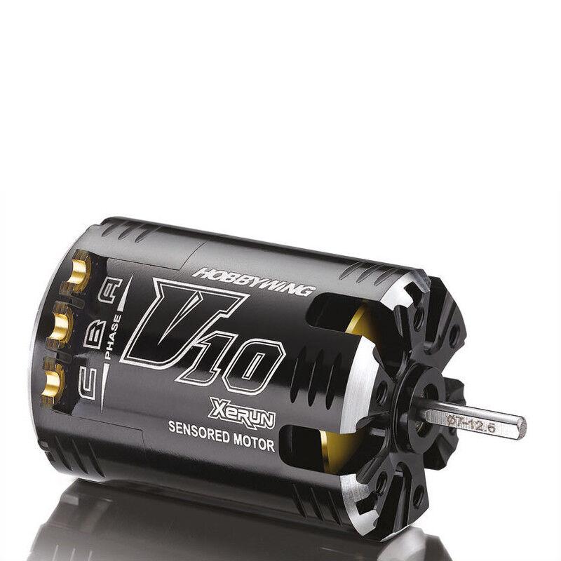 Brushless E Engine Xerun V10 7.650 Kv 4.5T Rc Car 1 10 1 12 Hobbywing
