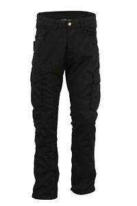 Black-Tab-Motorcycle-Smart-Black-CARGO-Jeans-Protective-Lining-CE1621-1-Armour