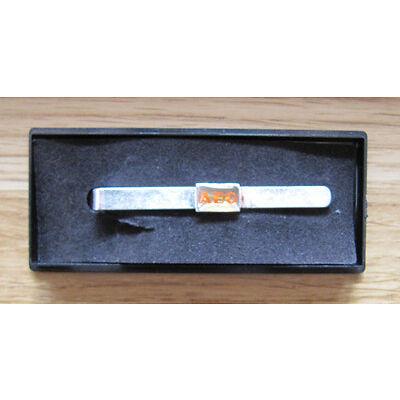 Krawattennadel silberfarben Krawattenklammer Fa. AEG