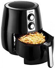 VonShef Air Fryer Deep Fat Free Frying Healthy No Oil Black Kitchen Cooker 1230W