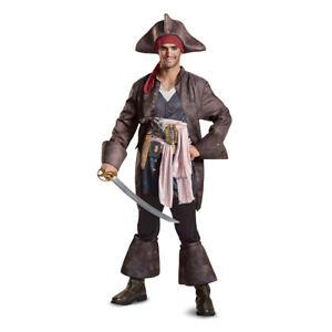 Mens-Captain-Jack-Sparrow-Deluxe-Pirate-Costume