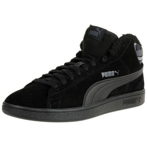 Puma Metà Taglio Scarpe Sneaker Smash Wtr Retro V2 366810 Foderato rqWROwSZrf