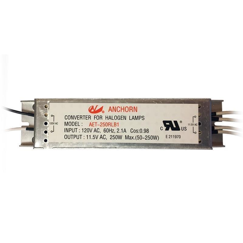 Nuevo anchorn electrónico Halógena Bajo Transformador de tensión, 12v 250w evrosvet