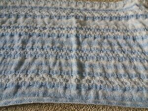 brand new hand knitted pram blanket - St. Austell, United Kingdom - brand new hand knitted pram blanket - St. Austell, United Kingdom