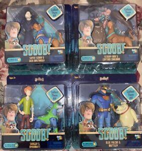 Scooby Doo Scooby Film de Blue Falcon /& Muttley Shaggy /& Dynomutt Set of 4 NEW...