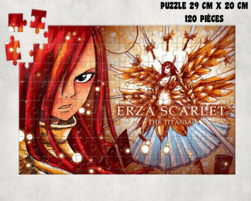 puzzle FAIRY TAIL MANGA