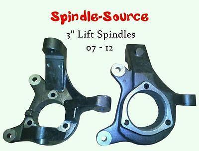 "J 07-16 Chevy Silverado GMC Sierra 1500 2WD 3/"" Lift Spindles Knuckles"
