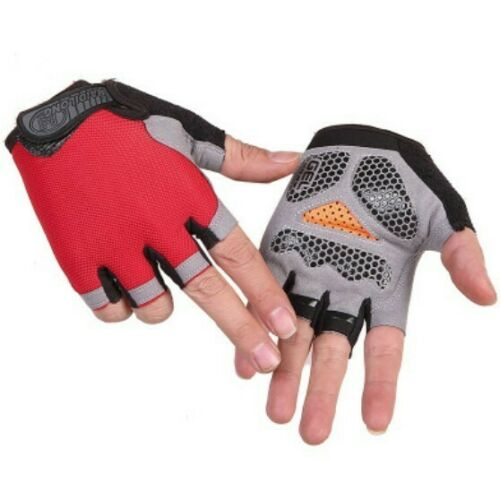 Unisex Fitness 3D Gel Padded Gloves Exercise Gloves Cycling Gym Training Gloves