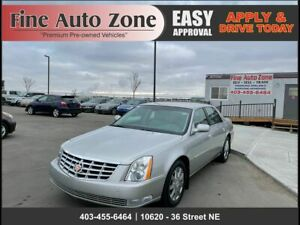 2007 Cadillac DTS Heated And Cold Leather Seats Remote Start One Owner Clean Carfax