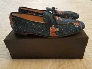 827865e2617 NEW IN BOX WOMEN S J CREW ACADEMY LOAFERS IN TIGER PRINT SLIP ON ...