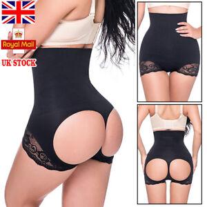 c0e702ba1 UK Tummy Control Booty Lift Butt Lifter Enhancer Bum Body Shaper ...