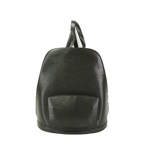 df7f6be23f33 Louis Vuitton Black Epi Leather Gobelins Backpack Bag M52292 for sale  online