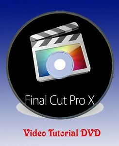 Details about Learn Final Cut Pro X - The Complete Final Cut Pro X Tutorial  Video DVD