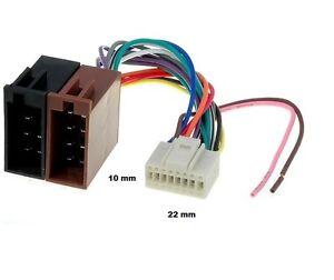 Image Is Loading ALPINE Wiring Harness ISO 16 PIN CDA 7842