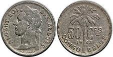 CONGO BELGE 50 CENTIMES 1923 KM#22