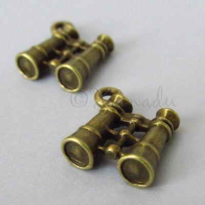 Feathers Wholesale 30mm Antiqued Bronze Charm Pendants C4433-10 20 Or 50PCs