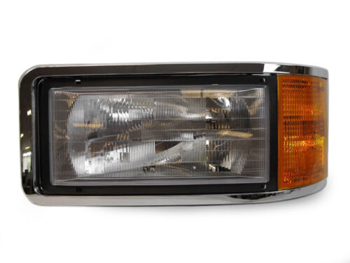 DEPO OE-Replacement Headlight Set For 1990-2006 Mack CH600 Commercial Truck