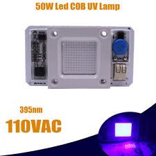 Driverless 50w 395 400nm Uv Cob Led Chip Smart Ic 110vac No Welding Light Lamp