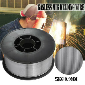 Gasless-Flux-Cored-MIG-Welding-Wire-E71T-11-0-04-034-10-lb-US-Stock