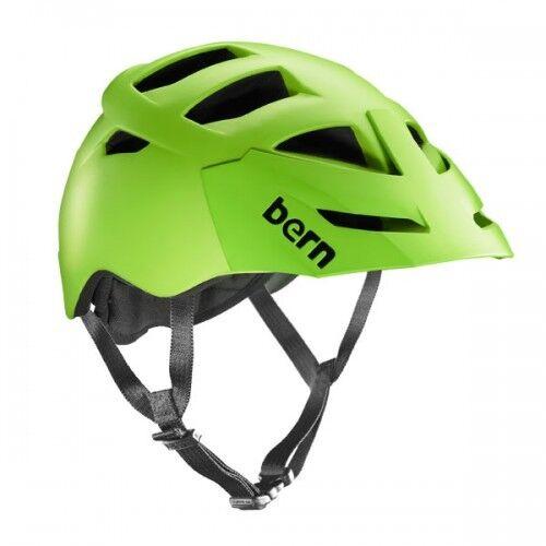 Bern Morrison Zipmold Bicicletta Casco da Bicicletta,verde Neon SM LXL Vm8ng