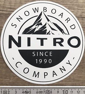 ???? Nitro Snowboard ???? Sticker Adesivo Decal Skateboard Longboards Surf Sci Bmx-mostra Il Titolo Originale Pacchetti Alla Moda E Attraenti