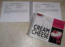 Cream Cheese Cookbook 101 recipes of Dips, Pies, desserts, breads, bars, fudge +