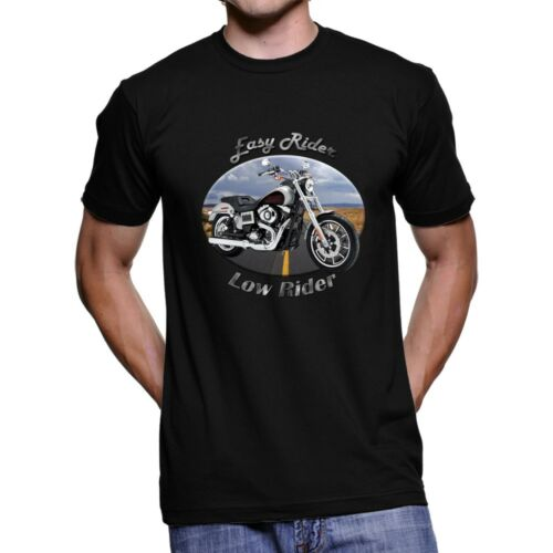 Harley Davidson Low Rider Easy Rider Men`s Dark T-Shirt