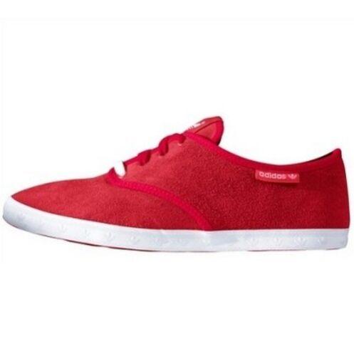 Adidas Adria PS W NEU Gr.37,40,41,42 Damen Rot Schuhe Leder Sneaker Freizeit