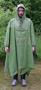 Unter Der Voraussetzung Originaler Nva Regenponcho Poncho Abc Nässeschutz Regenschutz Outdoor Angeln Ddr Regenbekleidung