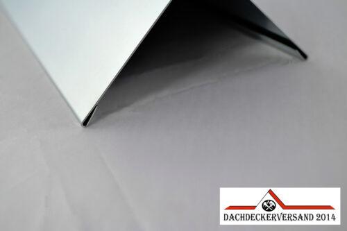 Firstblech Gratblech Dachblech Winkelblech Dach Alu Aluminium natur 2m lang