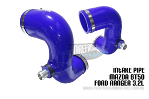 PX Ranger Bt50 3.2L Intake pipe upgrade ( air filter to turbo)   2012+   BLUE