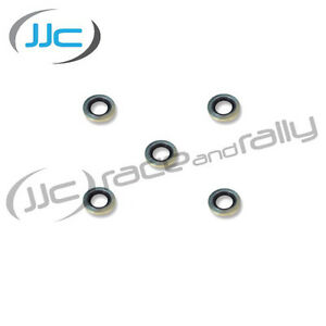 Oil-Filter-Sandwich-Plate-Bonded-Seal-Seals-x-5-13-16-034-To-Suit-1-2-034