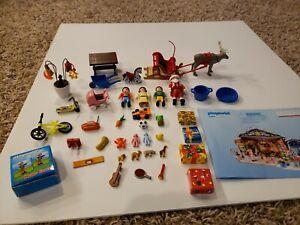 Playmobil-Santa-039-s-Workshop-Christmas-Advent-Calendar-5494-Play-Set