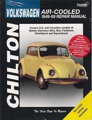 1949-1969 beetle fastback bus +more repair service workshop manual book  0734**** | ebay  ebay
