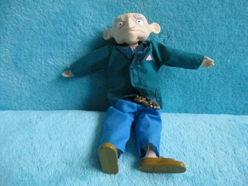 "1997 Mattel Nickelodeon Rugrats-BORIS KROPOTKIN GRANDPA Soft Plush Toy Doll 7/"""