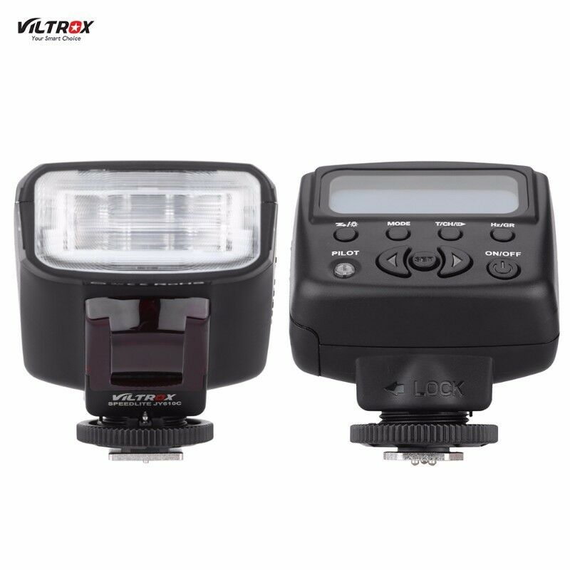 Nikon i-TTL speedlite flash Viltrox JY-610N II. GN 27m. Brand new.