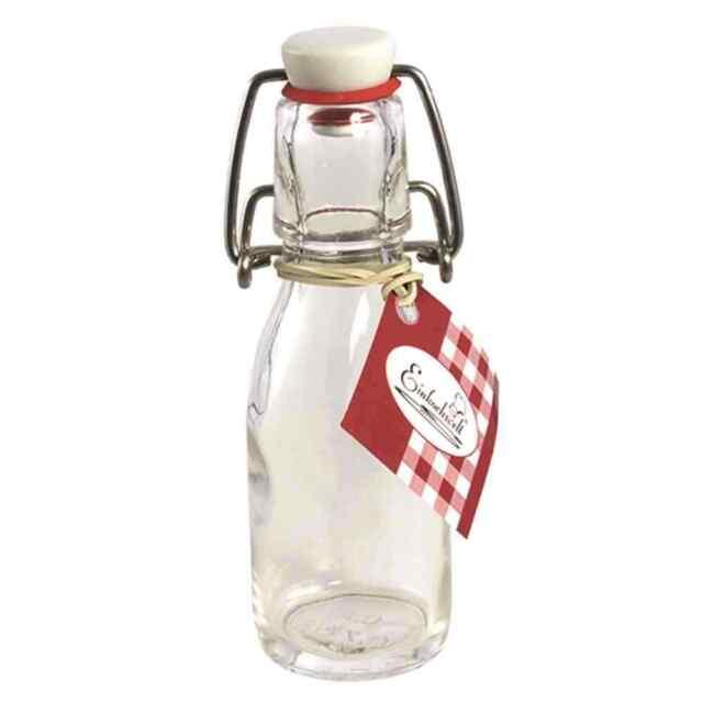 Bügelflasche 100ml Kochen Küche Geschirr Haltbarmachen Einwecken Einkochen TOP