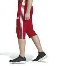 Adidas Tiro 17 3//4 Pants Soccer Shorts # BS3705 Black /& White Men SZ M 2XL