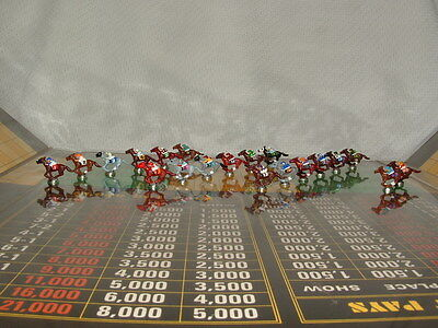 CUSTOM KENTUCKY DERBY 20 PIECE TOKENS FOR APBA AMERICAN SADDLE HORSE RACING GAME