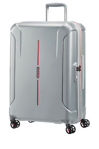 NEW-Technum-Hardside-Spinner-Case-Medium-Aluminium-68cm-3-9kg