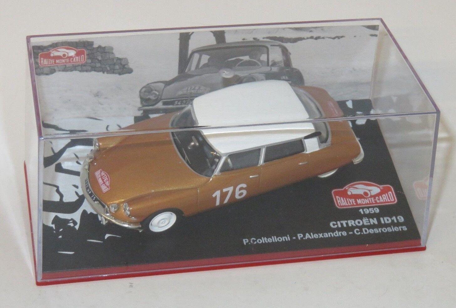 1 43 Citroen ID19 Winner Monte Carlo Rallye 1959