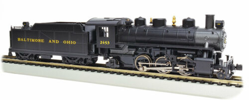 HO Scale Bachmann 2-6-2 Prairie Baltimore /& Ohio #2453 Item #BAC51506